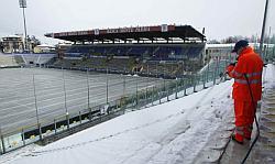 Stadio Tardini di Parma innevato 31-01-2010