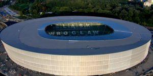 Stadio Wroclaw Breslavia Polonia