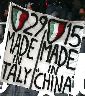 Scudetti: Juve 29 Made in Italy - Inter 15 Made in China