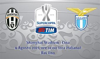 Supercoppa Italiana 2015 Juventus Lazio