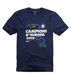 Maglietta Inter Campioni d'Europa 2010