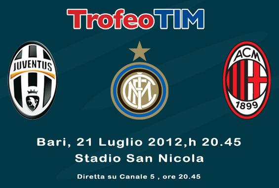 Trofeo Tim 2012 calcio
