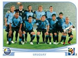 Figurina Panini Uruguay Mondiali 2010