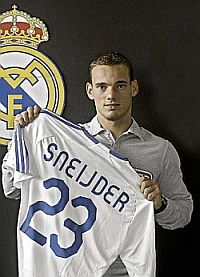 Wesley Sneijder, Real Madrid