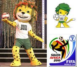 Zakumi, Mascotte Coppa del Mondo Calcio 2010 Sudafrica