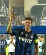 J.Zanetti premio fair play Coppa del Mondo per Club 2010