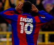 Roberto Baggio maglia Bologna