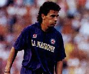 Roberto Baggio maglia Fiorentina