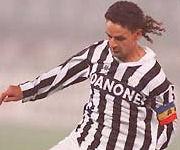 Roberto Baggio maglia Juve