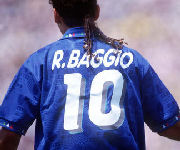 Roberto Baggio nazionale Italia numero 10