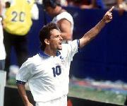 Roberto Baggio nazionale italiana calcio