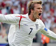 David Beckham nazionale inglese