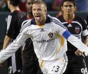 David Beckham gol L.A. Galaxy