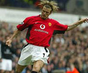 David Beckham Manchester UTD