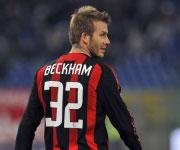 Beckham AC Milan 2010 maglia 32