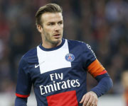 David Beckham PSG capitano 2013