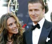Beckham e la moglie Victoria Adams