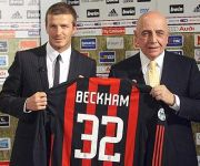 David Beckham e Adriano Galliani