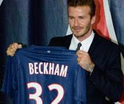 Presentazione Beckham Paris Saint Germain maglia 32