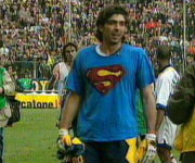 Gianluigi Buffon maglietta Superman Parma