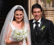 Nozze Buffon Seredova 2011 foto sposi