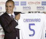 Presentazione Cannavaro Real Madrid