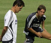 Antonio Cassano e Fabio Capello, Real Madrid