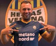 Antonio Cassano Hellas Verona 2017 2018