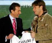 Presentazione Antonio Cassano Real Madrid