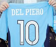 Alessandro Del Piero maglia Sydney FC numero 10