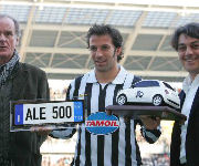 Del Piero 500 presenze Juve