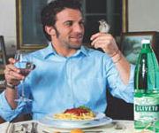 Spot Acqua Uliveto: Del Piero e l'uccellino