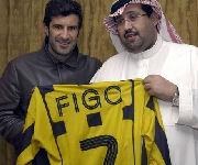Presentazione Figo Al Ittihad, Arabia Saudita