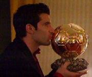 Luis Figo Pallone d'oro 2000