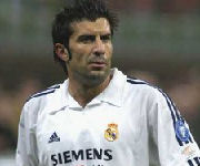 Luis Figo Real Madrid