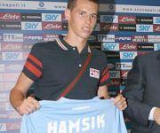 presentazione Hamsik Napoli Calcio 2007