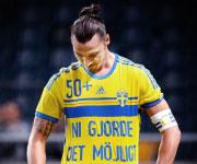 Zlatan Ibrahimovic maglia 50 gol Svezia