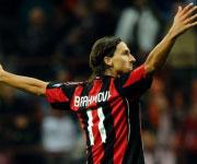 Zlatan Ibrahimovic AC Milan maglia 11 2010 2011
