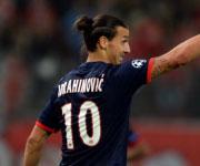 Zlatan Ibrahimovic Paris Sain Germain maglia numero 10