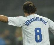 Zlatan Ibrahimovic Inter maglia 8