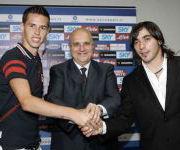 presentazione Lavezzi e Hamsyk Napoli 2007