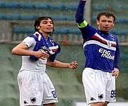 Guido Marilungo e Antonio Cassano Sampdoria