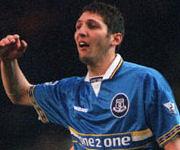 Marco Materazzi Everton 1998 1999