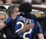 Diego Milito e Jose Mourinho triplete 2010