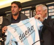 Presentazione Diego Milito Racing Club Avellaneda 2014