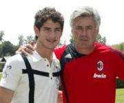 Pato e Carlo Ancelotti