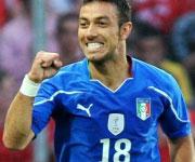 Fabio Quagliarella Italia Coppa del Mondo di Calcio 2010
