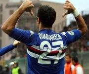 Fabio Quagliarella, maglia numero 27 Sampdoria