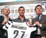 Presentazione Fabio Quagliarella Udinese