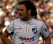 Alvaro Recoba capitano Nacional Montevideo
